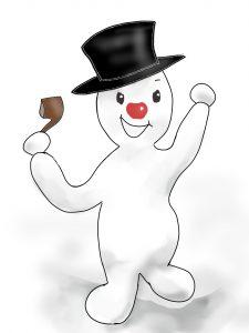 snowman shrunk